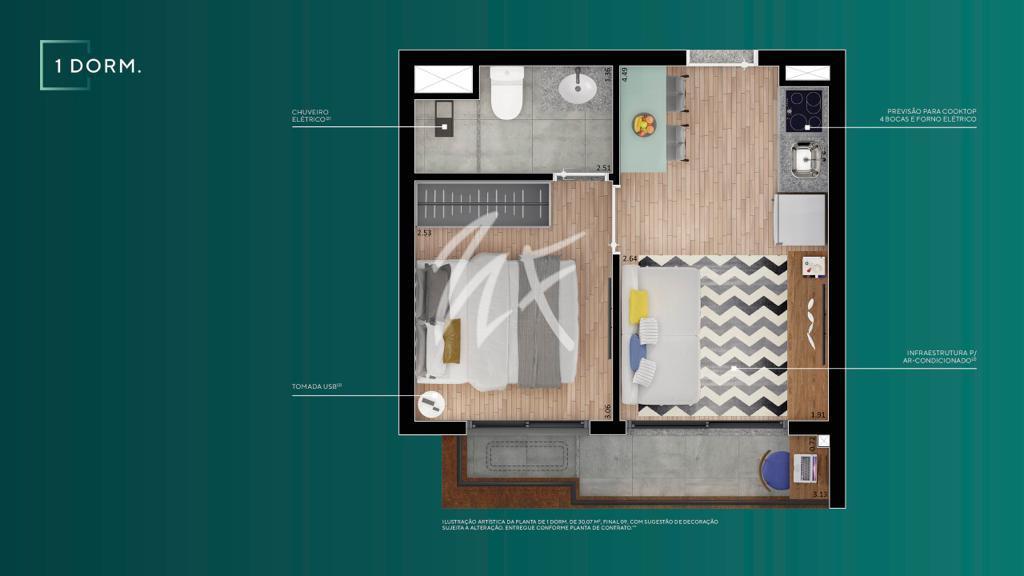 1 Dormitório A