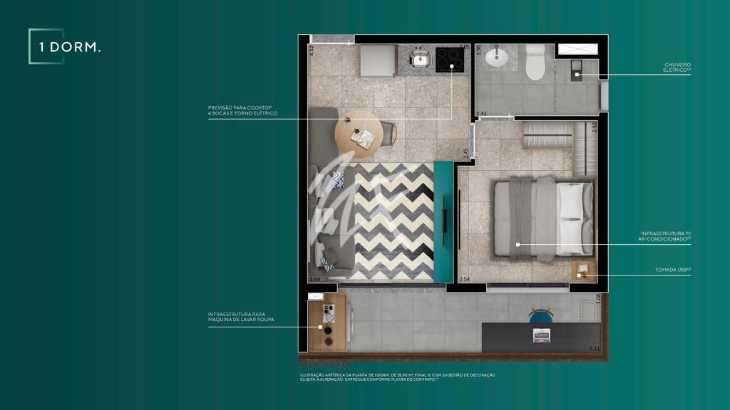 1 Dormitório B